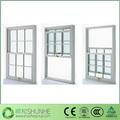 China madera de doble- colgado las ventanas de vinilo ventanas de madera de madera ventanas de doble colgado ventana