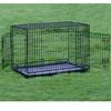 Folding Metal Galvanized Dog Cage