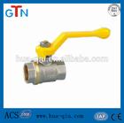 female brass gas inlet valve