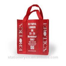 Good quality silicone shopping bag cheap nylon foldable shopping bag
