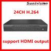 Amazing quality DVR 24ch cloud h 264 cctv dvr recorder