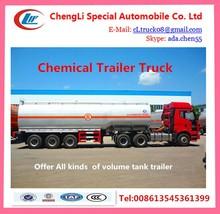 36000l Faw 8*4 Chemical Liquid Tanker Truck ,,Faw Hydrochloric Acid Tanker