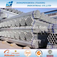 erw standard bs 1387 galvanized carbon steel pipe