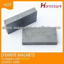 y35 block shape ferrite magnet