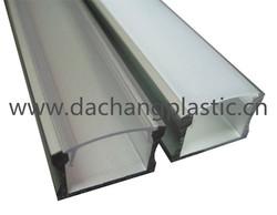 polycarbonate screen cover for aluminium led profile