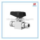 """high pressure stainless steel 3/8"""" female NPT thread ball valve"""