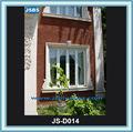 Chers carré. extérieures. décoratifs. châssis de fenêtre en pierre blanche