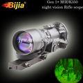 Bj125 2.5x infravermelho de visão noturna riflescope rifle