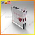 cadre photo en acrylique clair et beau design