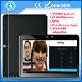Mtk8382 3g 10.1 quad core tablet pc telefone com chamadas de voz, android4.4 tablet pc