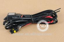 hi/lo function HID Bi xenon wiring harness for bi xenon projector lens car headlight