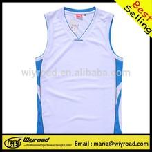 Accept sample order basketball tank top/polyester basketball top/fashion style basketball top