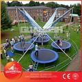 Mini trampolino elastico prezzo, bungee trampolino per la vendita