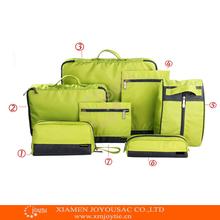 2015 newest travel storage bag organizer bag with 7 sets