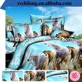 dernière 3d 2014 couverture de lit imprimé ensemble de literie usine chinoise