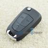 HU100 folding key Vectra C Astra H remote key 3 button for Opel auto smart key