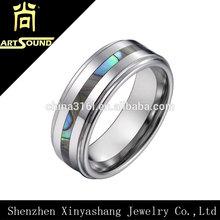 2014 wholesale wedding men's tungsten ring