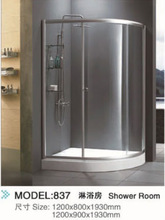 Botin Hot Selling Cheap Shower room&Bathroom Glass shower room 837