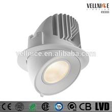 Adjustable 30W high power CITIZEN COB LED recessed downlight / fashion LED down light R3B0205