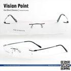 naturally rimless eyeglass frames made in china