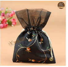 16x23cm Wedding pouch bags,sweet pouch drawstring pouch CH177