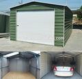 Metal garage/giardino capannone/metallo capannone di stoccaggio