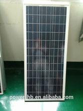 100W Monocrystalline/Polycrystalline Solar Panels