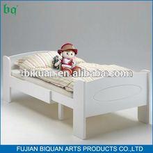 BQ white kids loft beds with slides