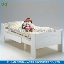 BQ white kid bed with slide