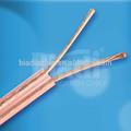 Figura 8 clear speaker bobina fio/transparente orador fio encalhado tcca/bc