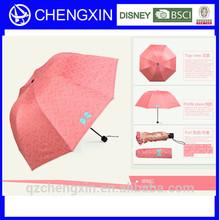 2014 new style feed dog folding lady's umbrella