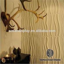 Top vente 3D luxueusement artiste mur de la cuisine en acier inoxydable panneau