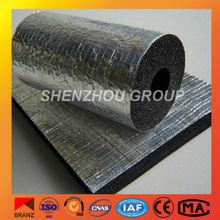 insulation aluminium foil faced rubber foam insulation