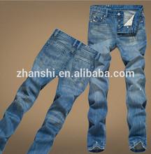Hot Sell Brand Name Mens Slim Fit Denim Jeans