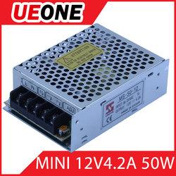 CE RoHS Universal AC Input 20W 5V Power Supply MS-50-12