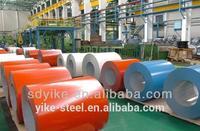 dx51d 52d 53d PPGI hot dipped galvanized prepainted steel coil for building material ISO 9001 4001 BV