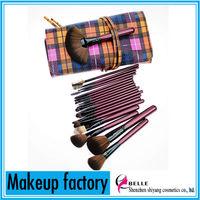 New arrival!!Top quality new design makeup brush sets 20pcs nylon hair makeup brushes set