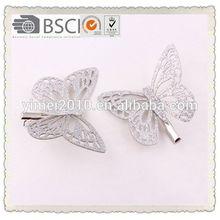 Fashion style fashion girls hair clip,girls butterfly hair clip