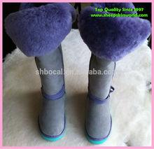 extra tall sheepskin snow boots