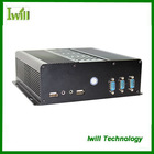 Iwill S100 pure aluminum mini itx case for industrial computer