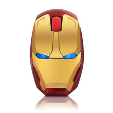 Wholesale - Iron man gaming mouse optical mouse Wireless Optical Gaming Mouse LIMITED EDITION ACTION FIGURE NEW