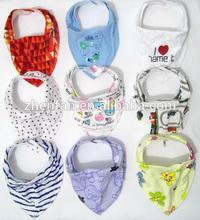 cotton infant baby bibs