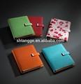 El más reciente de colores de encargo de cuero de la pu de ejercicio& libros cuadernos