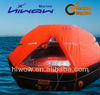 EC Approved inflatable life raft with container