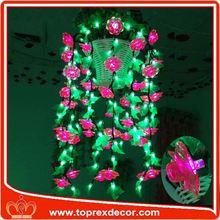 Decoration artificial velvet poinsettia flowers
