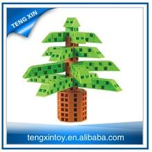 The Christmas tree toy brick game plastic enlighten brick toys