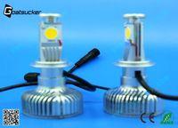 45w h7auto led bulb remote fog light led headlight h7 nissan sunny b14 parts