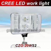 led work light for crane headlight tuning