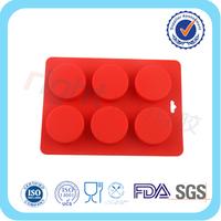 custom round silicone soap molds