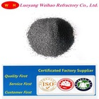 Black silicon carbide for steel making refractory